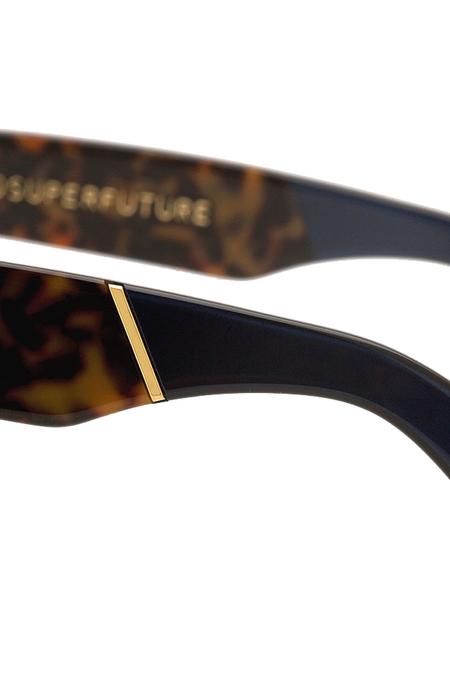RetroSuperFuture Classic Costiera Sunglasses - Leopard