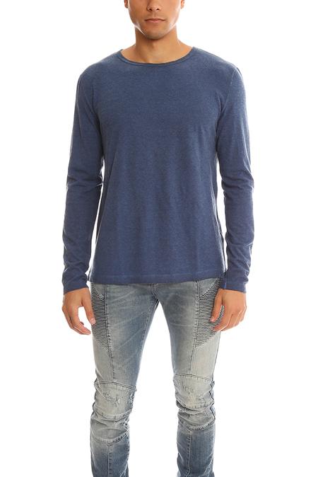 massimo alba Long Sleeve T-Shirt - Blue