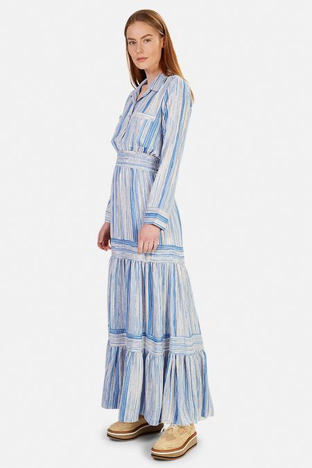 MISA Los Angeles Jasmine Dress - Abstract Stripe