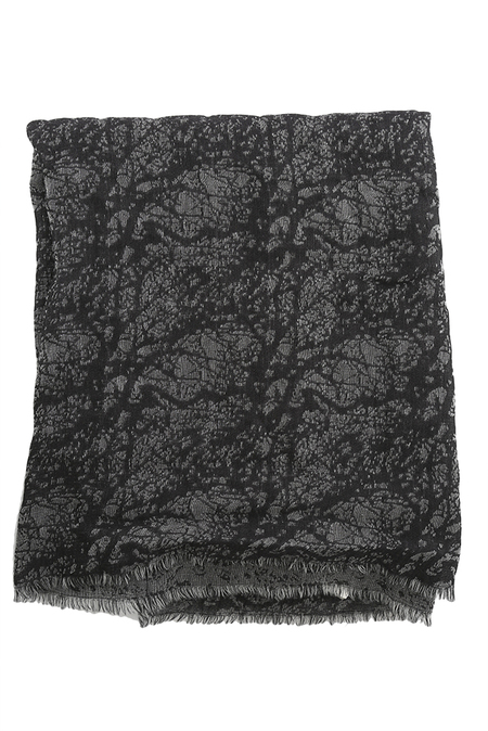 Traits Blow Up Scarf - black