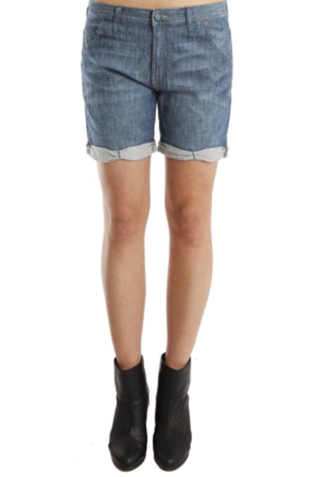 Genetic Denim Boyfriend Harem Shorts - Prairie