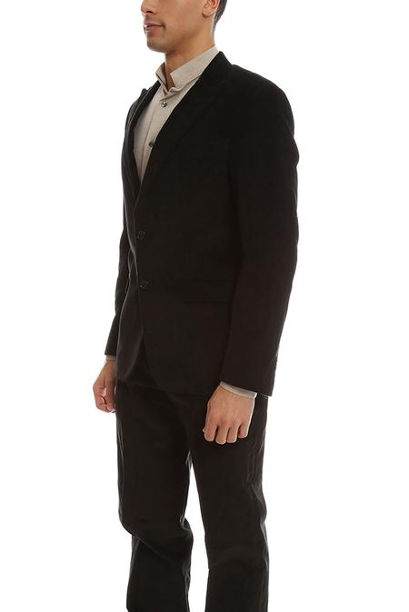 Simon Spurr Corduroy Suit Jacket - Black