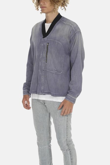 Golden Goose Jimmy Shirt B1 Jacket - Blue