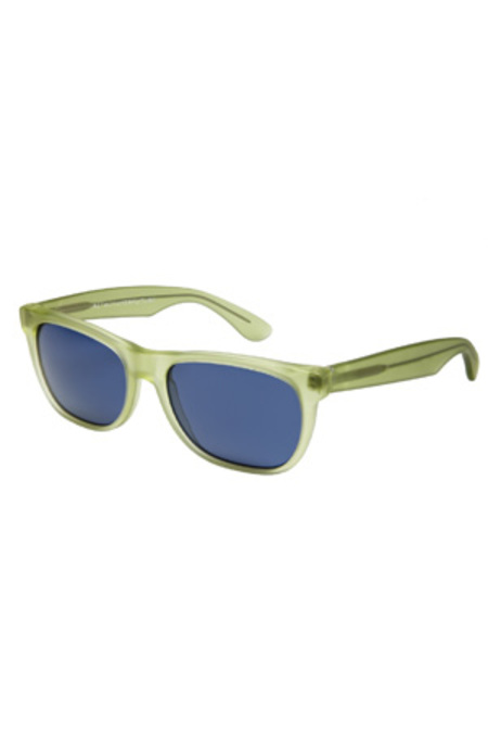 Retrosuperfuture Basic Trans Sunglasses - Electric Green