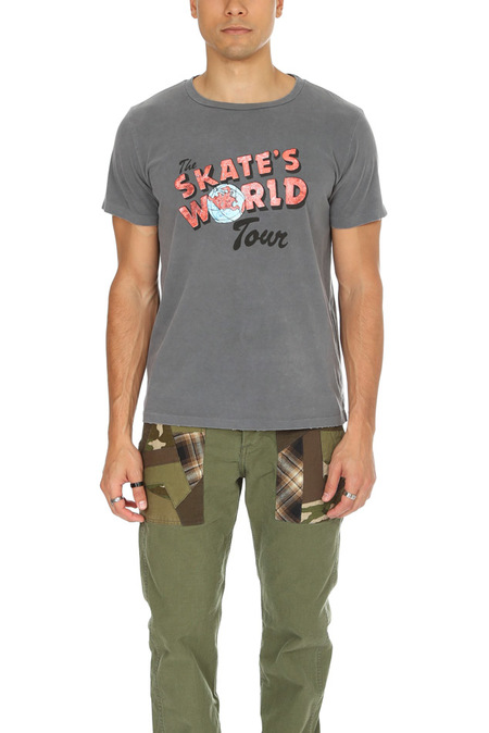 Remi Relief World Tour T-Shirt - Charcoal