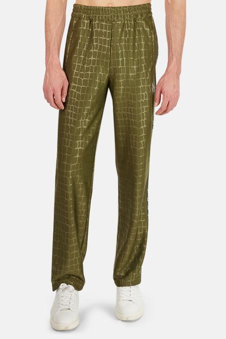 Lucien Pellat-Finet Croc Jogging Pants - Olive Croc