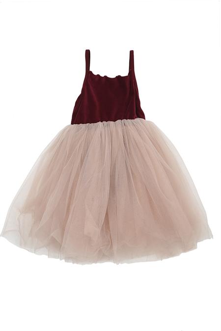 Kids Mini Anna Dress - Red