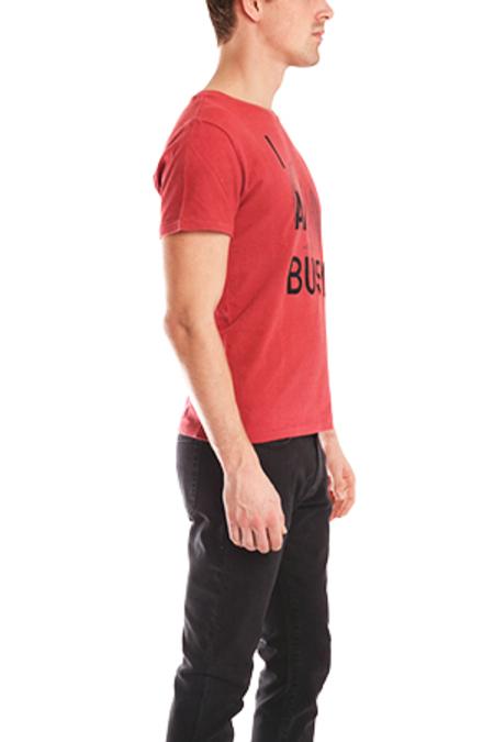 Remi Relief Saffi Stitch T-Shirt - Red