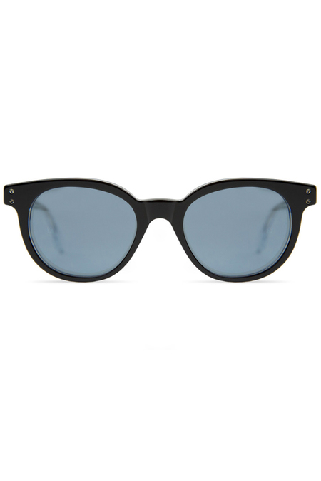 RETROSUPERFUTURE Riviera 44RU Sunglasses - Black