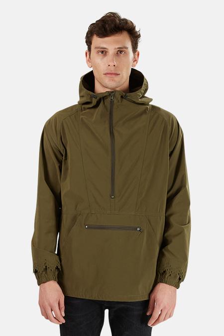 Remi Relief Nylon Anorak Jacket - Army