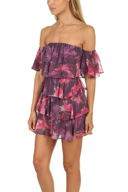 MISA Los Angeles Lucila Dress - Purple Multi