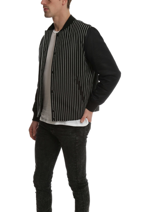 Rag & Bone Irving Jacket - Black/White