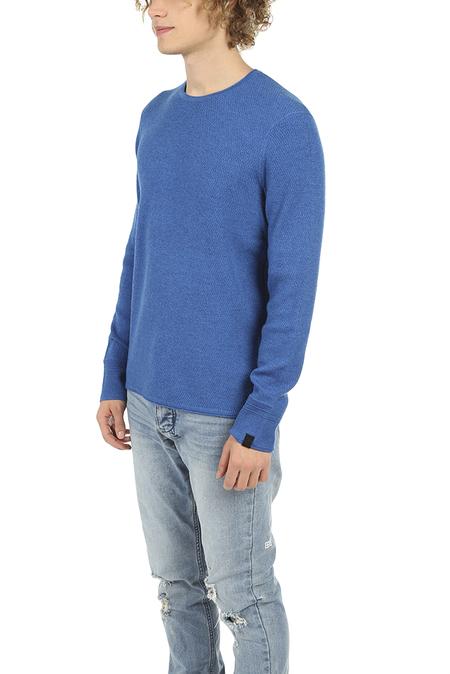 Rag & Bone Gregory Crew Sweater - Bright Blue