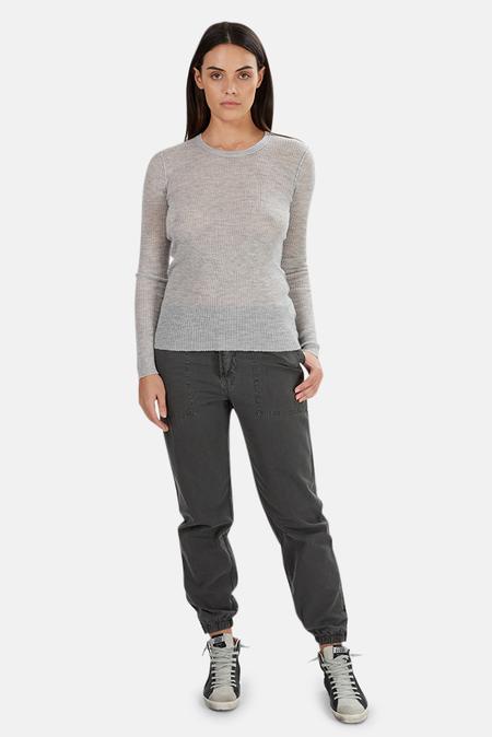 NSF Zuli Crewneck Sweater - Lunar Rock