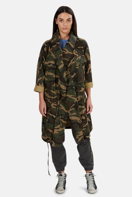 NSF Callie Cocoon Jacket - Woodland Camo