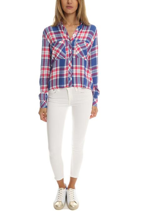 rag & bone Capri Jeans - Bright White