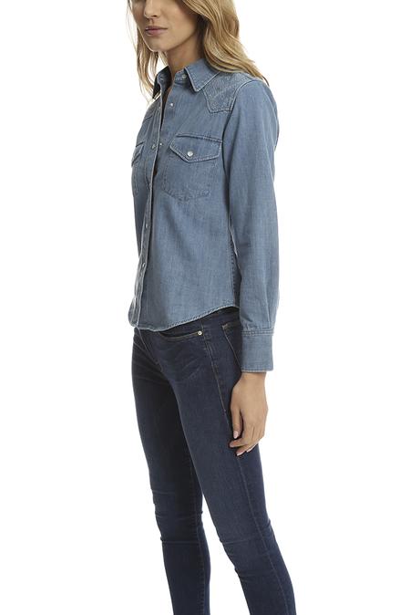 Lucien Pellat-Finet Western Shirt - Indigo
