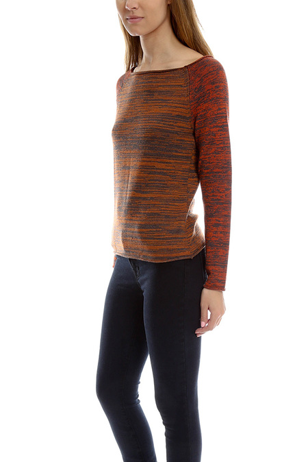 Thakoon Boatneck Sweater - Rust