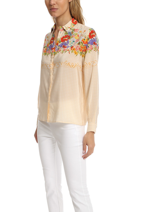 Roseanna Dahlia Fleuri Shirt - Yellow