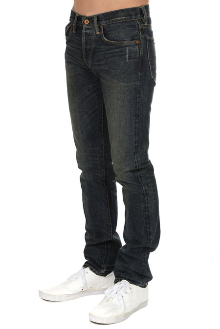 NSF Apache Straight Fit Pants - Blue