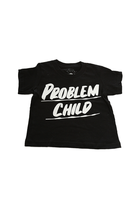 Kids Baron Von Fancy Problem Child T-Shirt - Black