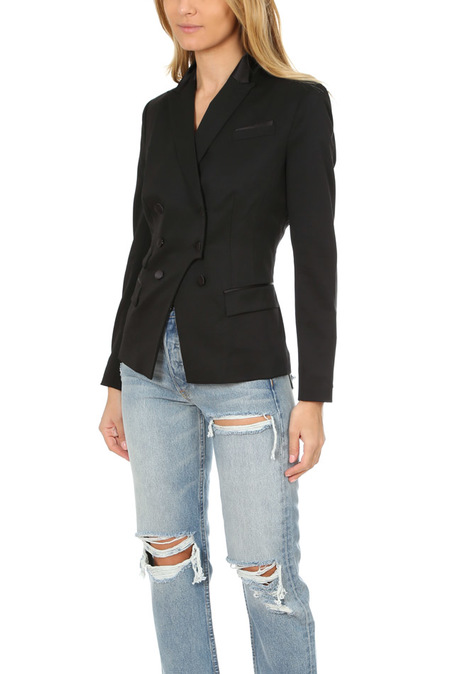 The Kooples Double Breasted Jacket - Black