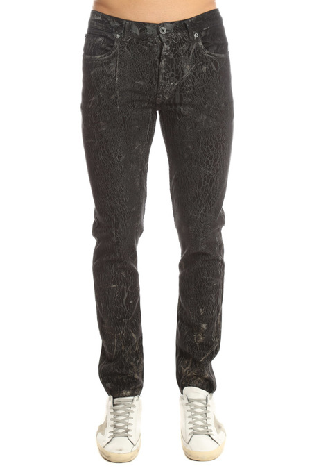 Robert Geller Type 2 S Pants - Shattered Black