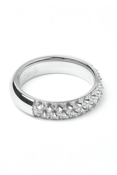 Vitaly Anti-Stone Ring - Silver