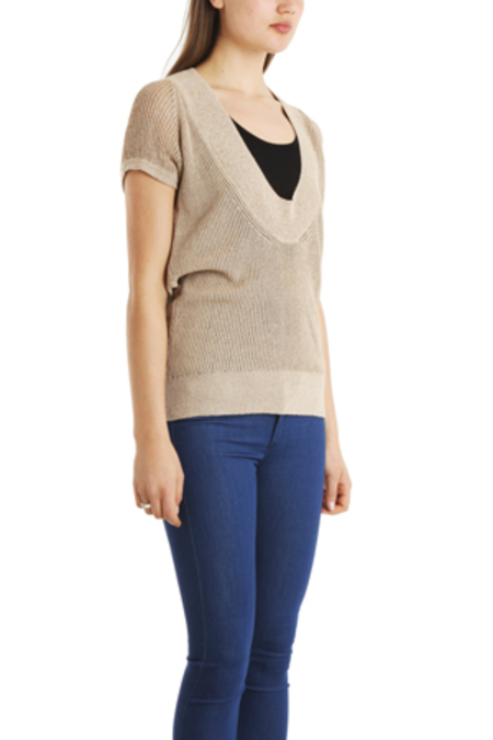 VPL Neo Low O Sweater - Taupe