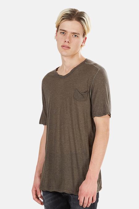 V::ROOM V Neck Classic T-Shirt - Navy