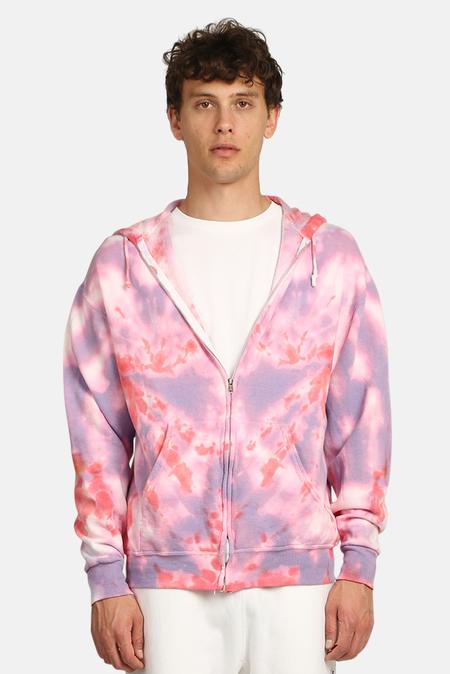 Blue&Cream Zip Hoodie Sweater