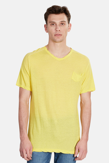 V::Room V Neck T-Shirt - Lemon