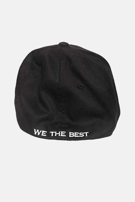Blue&Cream Flexfit Hat - Black
