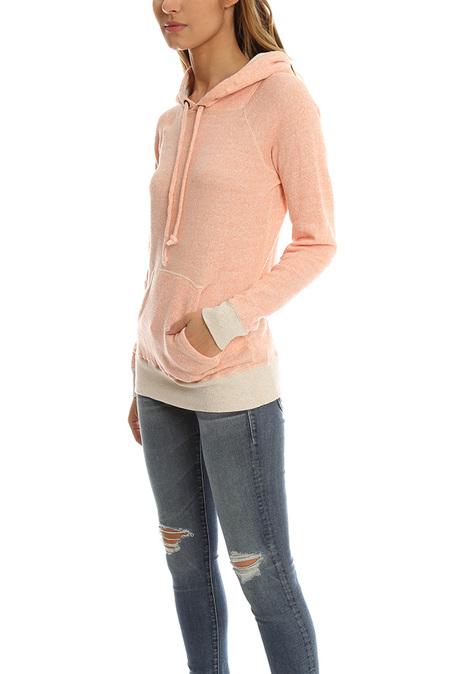 V::Room Gauze Hoody Sweater - Orange Mix