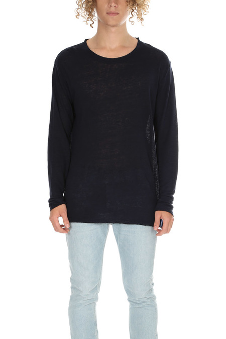 IRO Jalapa Longsleeve Sweater - Navy