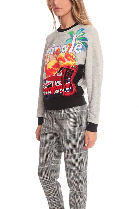 3.1 Phillip Lim Tourist Logo Embroidered Sweater - Grey