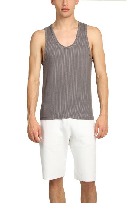 V::Room Knit Tank Top - Charcoal