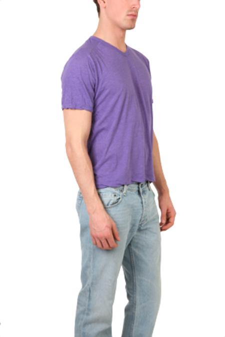 V::ROOM Highsoft V Neck T-Shirt - Lavender