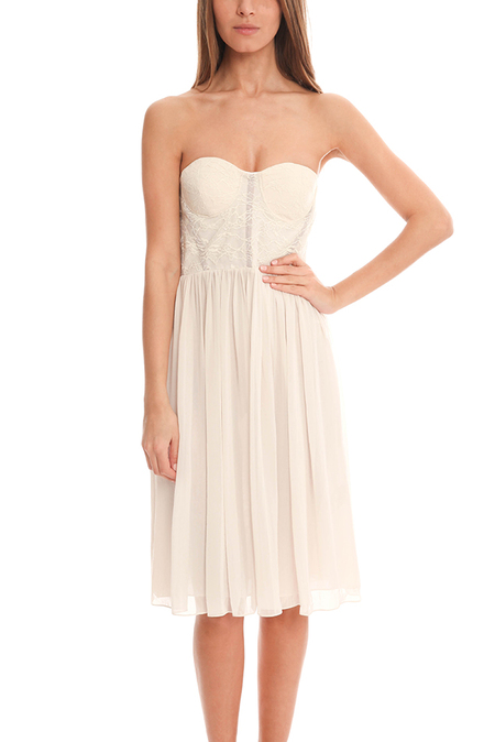 Camilla and Marc Wait In Vain Dress - White