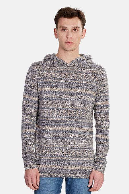 Blue&Cream Pink Brady Pullover Hoodie Sweater - Multi