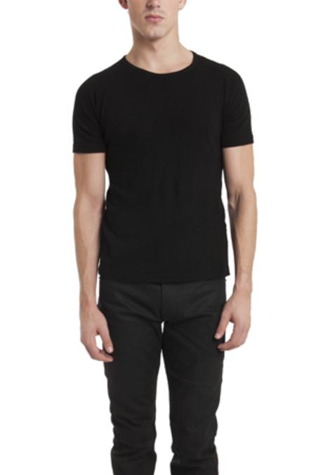 V::ROOM Basic Crewneck T-Shirt - Black