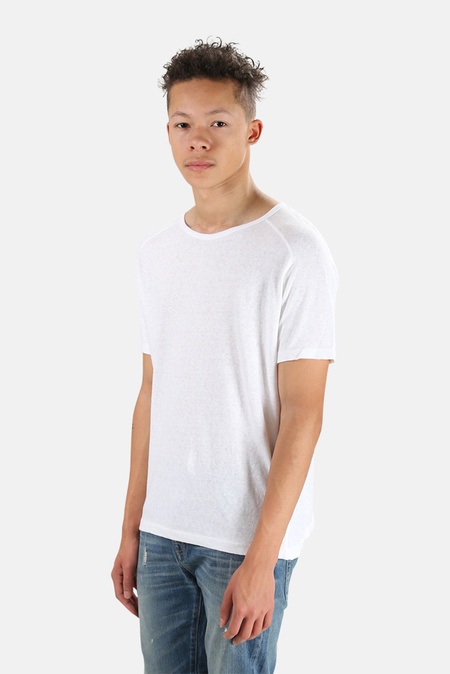 V::ROOM Basic Crewneck T-Shirt - White