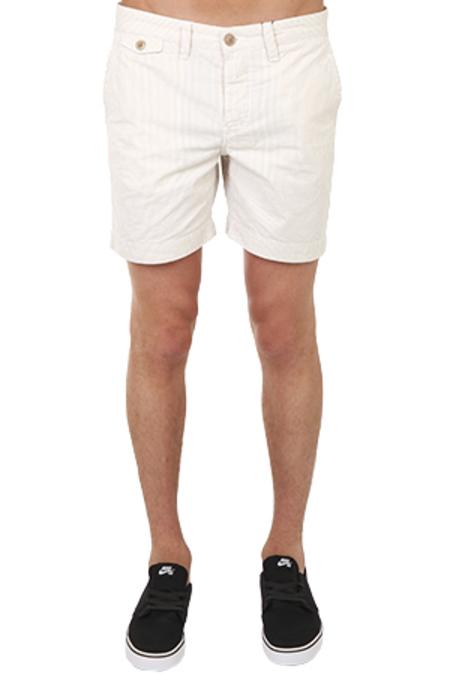 Woolrich Dock Stripe Short - Khaki