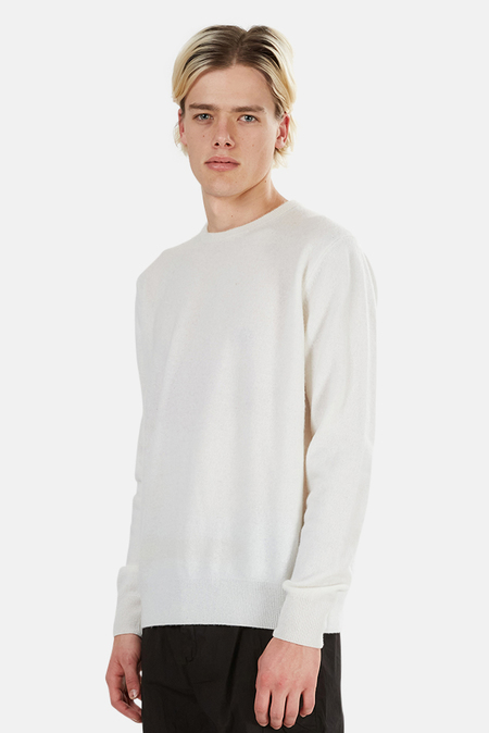 PRESIDENTS Wool Pullover Sweater - White
