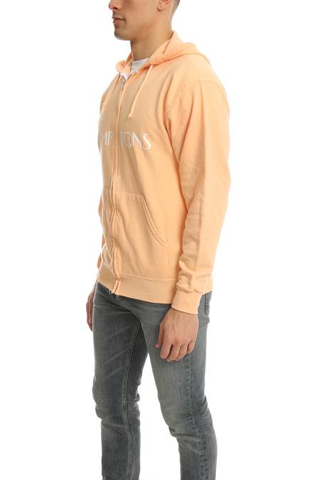 Blue&Cream Lamptons Hoodie Sweater - Peach/white