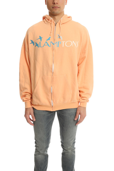 Blue&Cream Lamptons Hoodie Sweater - Peach