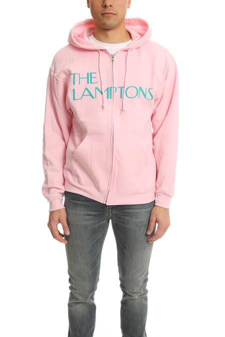 Blue&Cream Lamptons Hoodie Sweater - Pink/Turquoise