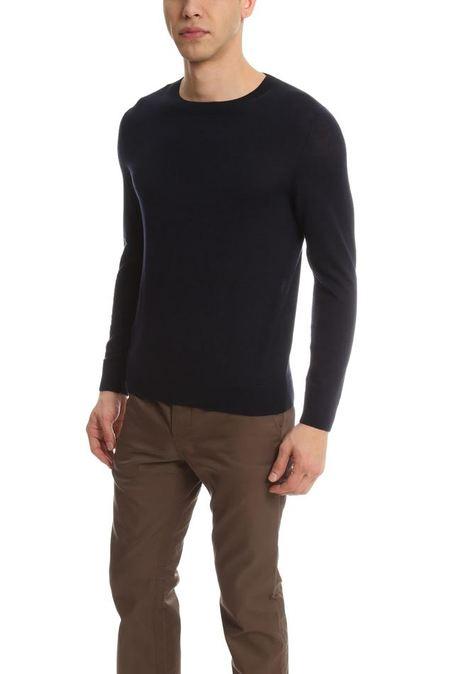 A.P.C. Nick Pullover Sweater - Dark Navy