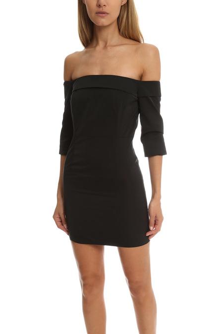 AMERICAN RETRO Louise Mini Dress - Black