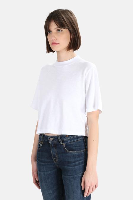 Cotton Citizen Tokyo Crop T-Shirt - White